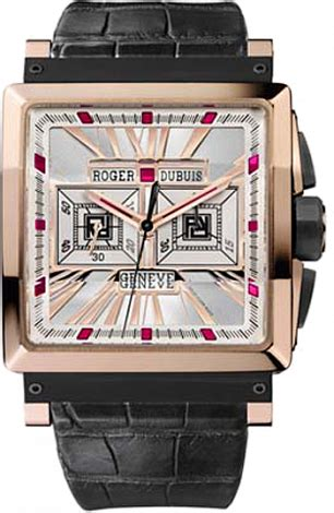 Roger Dubuis Silver Leather Matic For rddbks0031 roger dubuis kingsquare gold essential watches