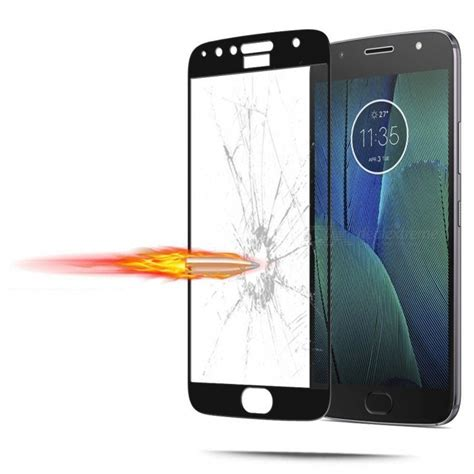 Tempered Glass Moto C Kuality naxtop tempered glass screen protector for moto g5s plus black free shipping dealextreme