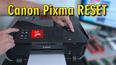 canon resetter error 009 canon pixma reset english subtitles drucker
