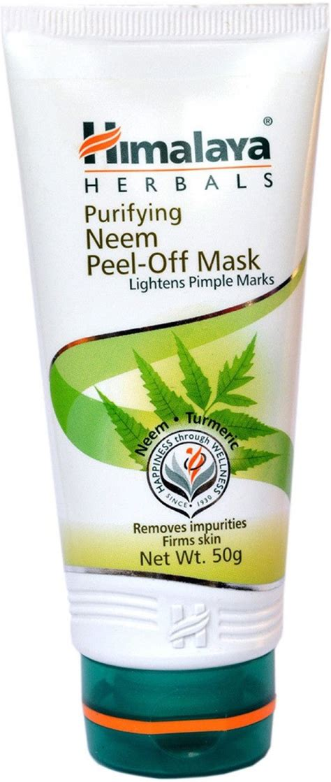 Neem Mask For Detox Acne by Himalaya Purifying Neem Peel Mask Price In India