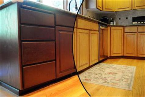refinished cabinets before and after refinishing scottsdale az refinishing kitchen