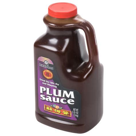 Plumb Sauce Kikkoman 5 Lb Plum Sauce