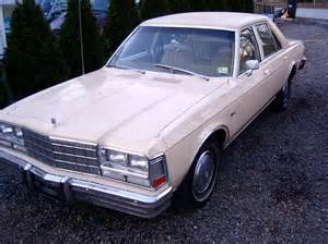 Diplomat Dodge Misfits7987 S 1979 Dodge Diplomat In Parsippany Nj