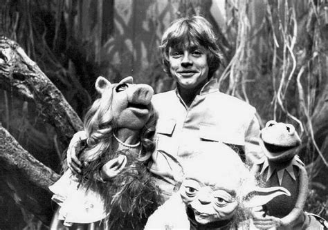 Miss Strikes Back when kermit met yoda the muppets on set of the empire