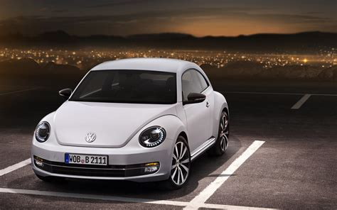 volkswagen bug white 2012 volkswagen beetle gets black white turbo special