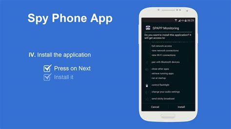 app for spying on another phone spy phone app android install guide youtube