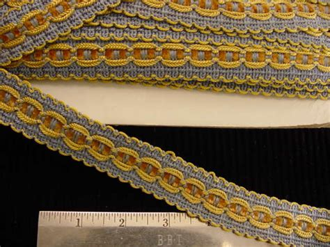 Upholstery Braid And Trimmings by Fancy Decorative Braid Trim Made In Italy Vintage Braided