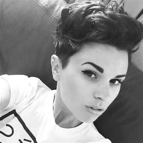what hairstyles can be done with a bald spot in the top of head 2214 best cool short hair images on pinterest