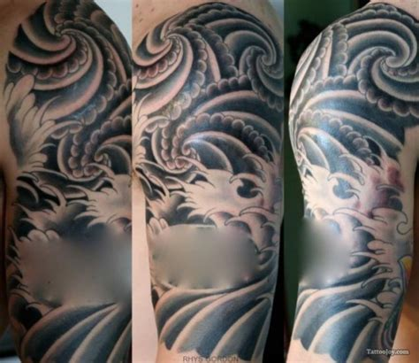 water pattern tattoo wind and water tattoo design pictures fashion gallery