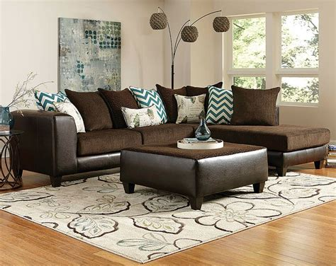 living room decor with brown leather sofa best 25 brown sectional ideas on leather