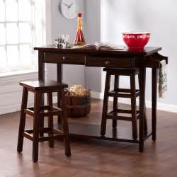 3 piece kitchen island table chair set dining portable bar stone brook kitchen island dining room set from liberty