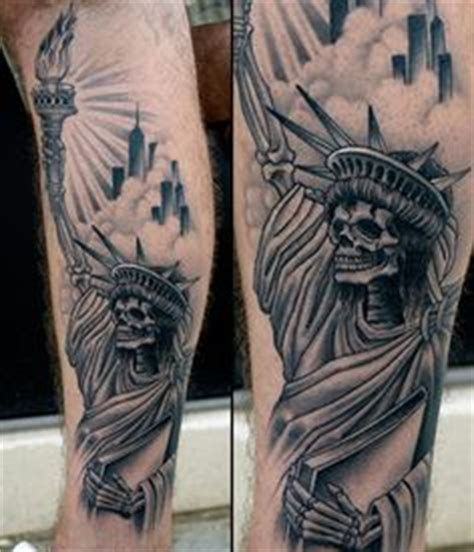 statue of liberty by tony sciarra tattoo factory ledgewood