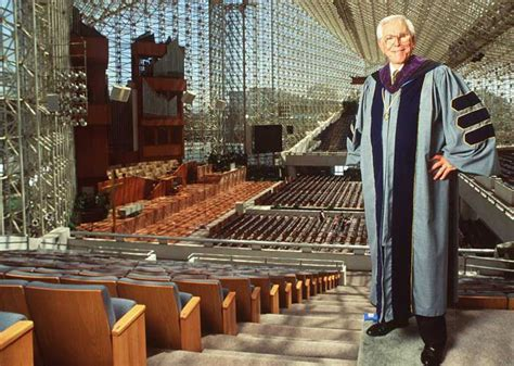 of cathedral founder robert schuller