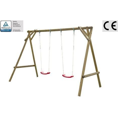 altalena in legno da giardino altalena da giardino per bambini in legno d abete nordico
