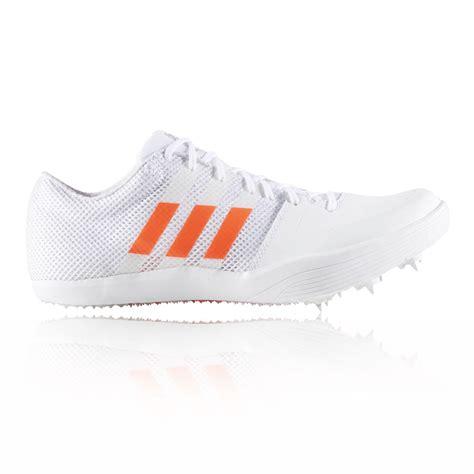 spikes athletics shoes adidas adizero jump mens white athletic track field