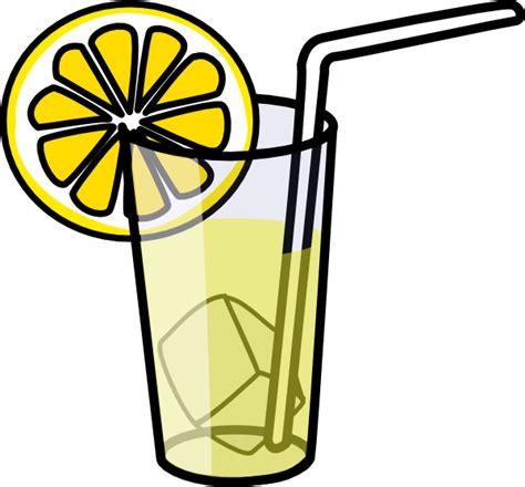 lemonade clipart lemonade glass clip at clker vector clip