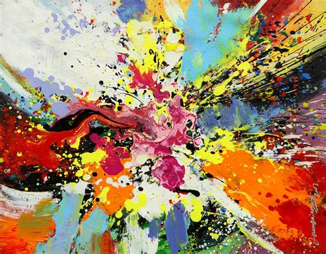 color bomb color bomb by huang min abstract beyond abstract