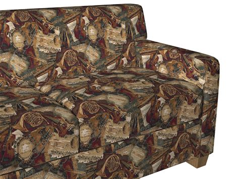 Themed Fabric Upholstery by Orchestra Instruments Themed Tapestry Upholstery Fabric By