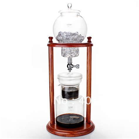 Gater Drip Pot Woodneck Clemex Cold Drip Coffee Maker W Filter Bag Bd4 coffee cold drip coffee maker 600ml gater cirelli coffee roastery