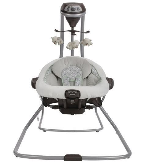 graco duet connect 2 in 1 swing graco duetconnect lx swing bouncer zander