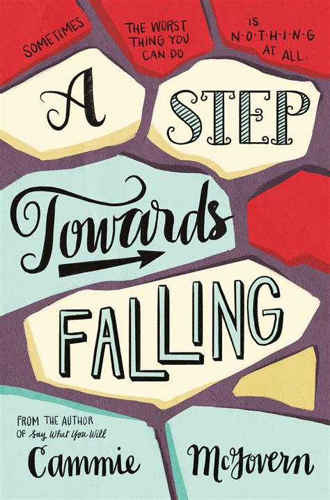 review a step towards falling by cammie mcgovern reading with book