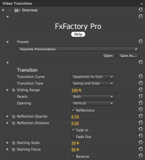 adobe premiere pro plugins effects fxfactory visual and audio effects plugins for adobe