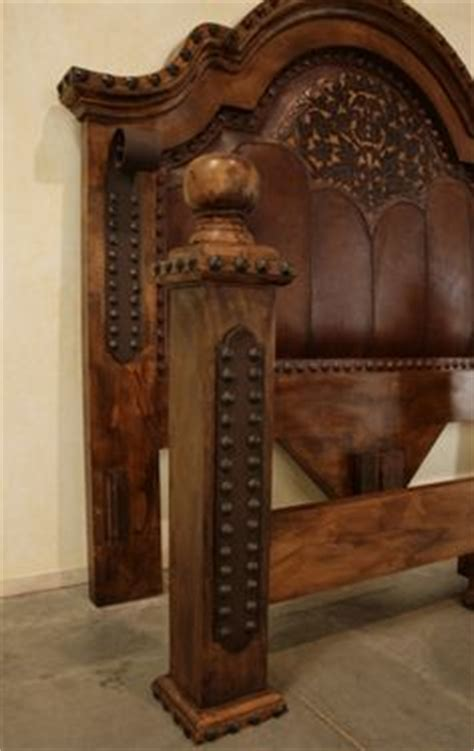 rustic alamo iron accent bedroom set western king beds shelves on pinterest platform beds platform