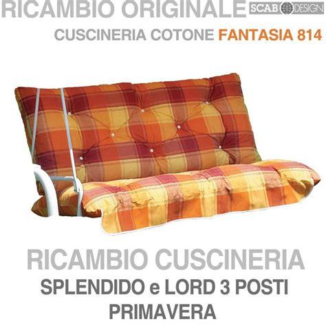 cuscini per dondolo cuscini per dondoli 3 posti scab scab giardino s p a