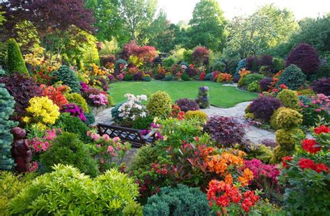 Landscaping Ideas Large Gardens Big Garden Ideas Corner