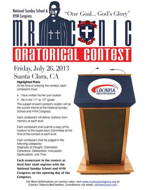 contest 2013 usa theme 2013 mr conic oratorical contest cochusa congress