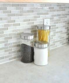 küche backsplash glass subway fliese brown glass tiles mixed with brown metals and gray metal