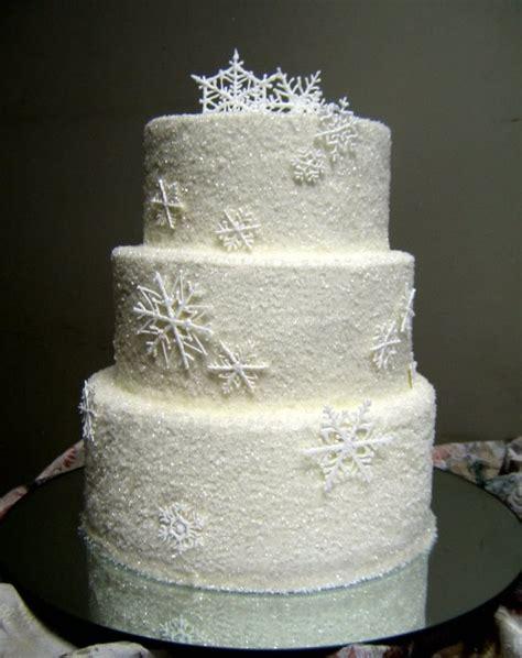 Hochzeitstorte Winter by Winter Wedding Cake Ideas Weddingelation