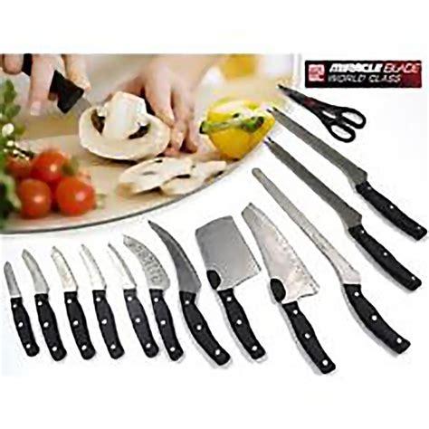 world class knives miracle blade world class 13 knife set