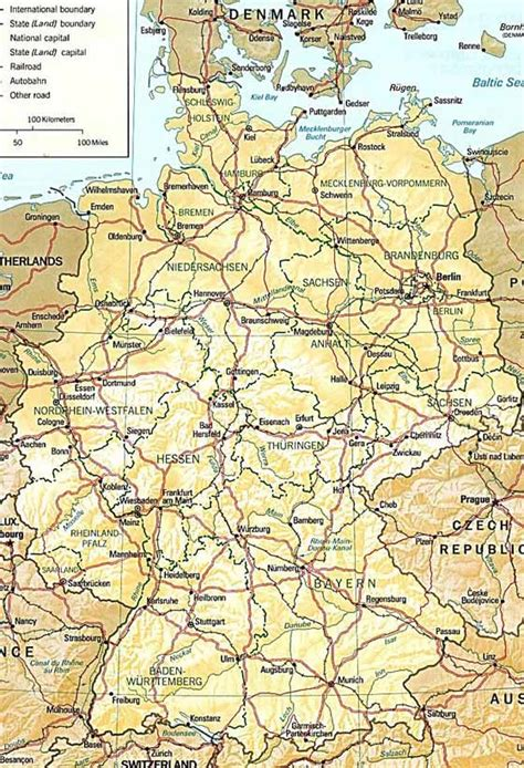 germany map printable germany maps printable maps of germany for