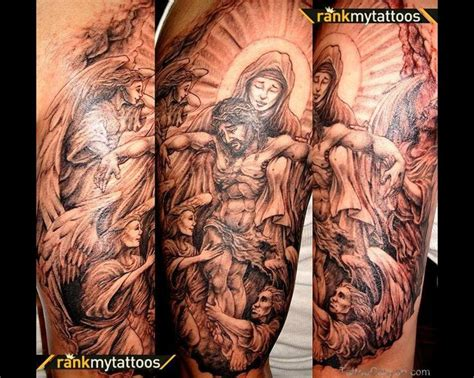 jesus tattoo with clouds 28 best angel and clouds tattoo designs images on