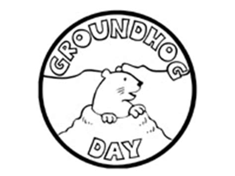 Kaos Groundhog best photos of side view groundhog printable groundhog