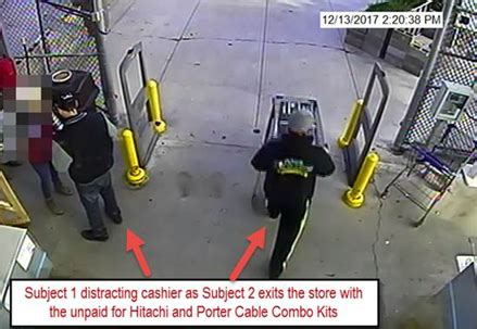 lowes ponca city seek two suspects in lowe s robbery