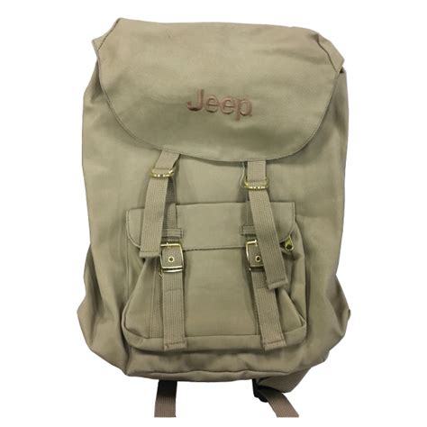 Jeep Kanvas X all things jeep jeep embroidered canvas voyager backpack