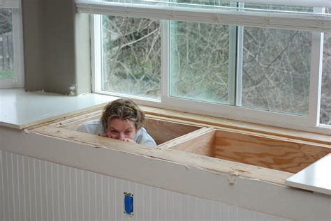 building a window bench seat with storage window seat storage tell er all about it