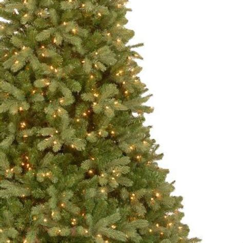 home depot real christmas trees 12 ft feel real downswept douglas fir artificial tree with 1200 clear lights pedd4