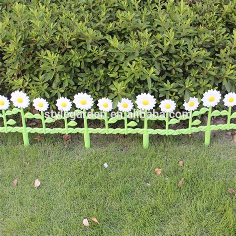 decorative garden fence decorative border economic diy daisies garden fence buy