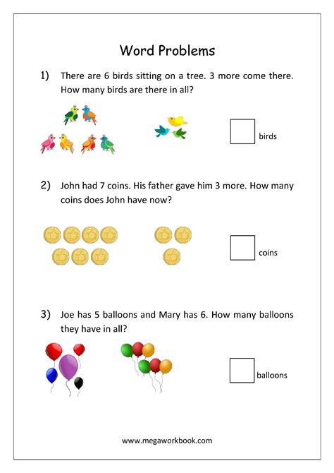 word problem addition worksheets word problems megaworkbook