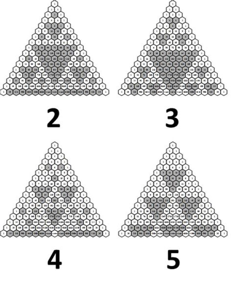 triangle pattern algebra 17 best images about patterning and algebra on pinterest
