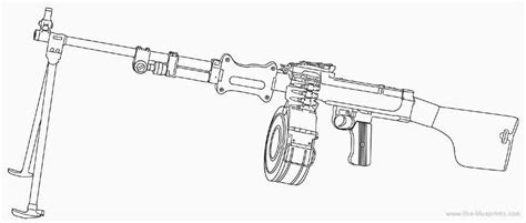 free coloring pages of machine guns gun coloring pages bestofcoloring com