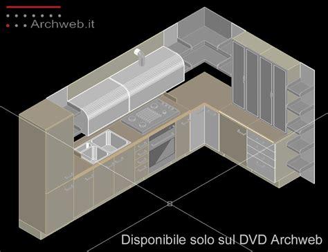 lavelli cucina dwg cucine 3d kitchen dwg