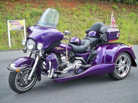 Motorrad Dreirad by Purple Harley Davidson Trike Harley Ultra Trike