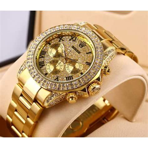 Rose Gold Appliances rolex datejust diamond bezel watch diamond dial a315