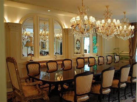 Fancy dining rooms