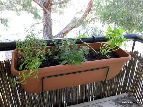 Balcony Herb Planter by Lkernaghs 2015 Herb Garden Project Gardens Books