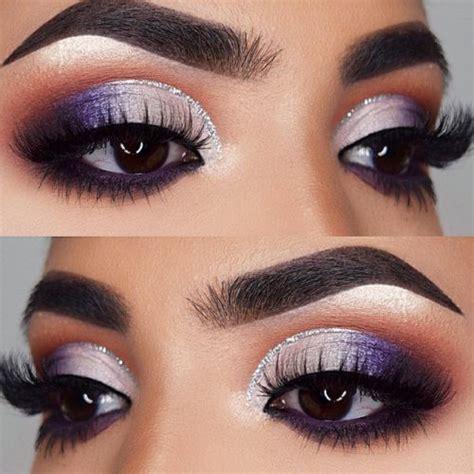 imagenes ojos morados 20 maquillajes para ojos en tonos violeta para impactar